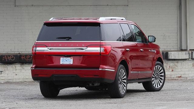 Lincoln Navigator rear