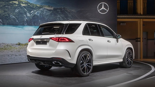 Mercedes-Benz GLE Rear