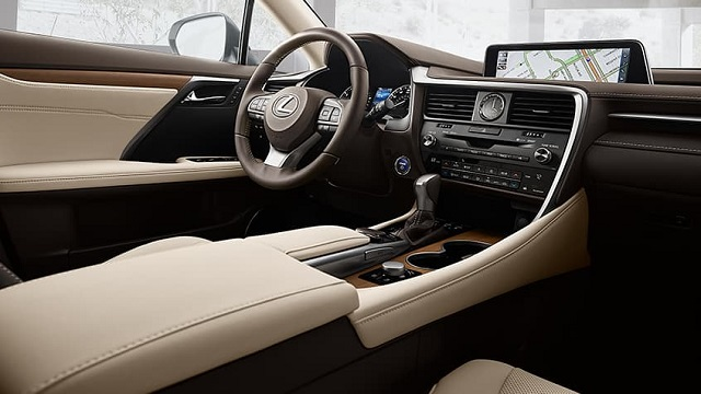RX350 Interior