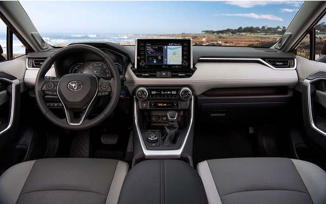 Toyota RAV4 interior