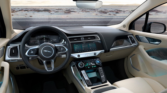 2020 Jaguar I Pace Interior