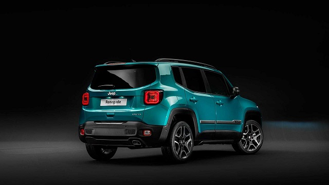 2020 Jeep Renegade rear
