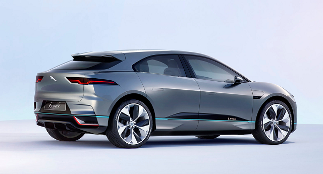 Jaguar I Pace rear