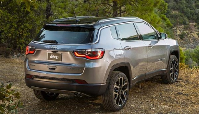 Jeep Compass Rear View