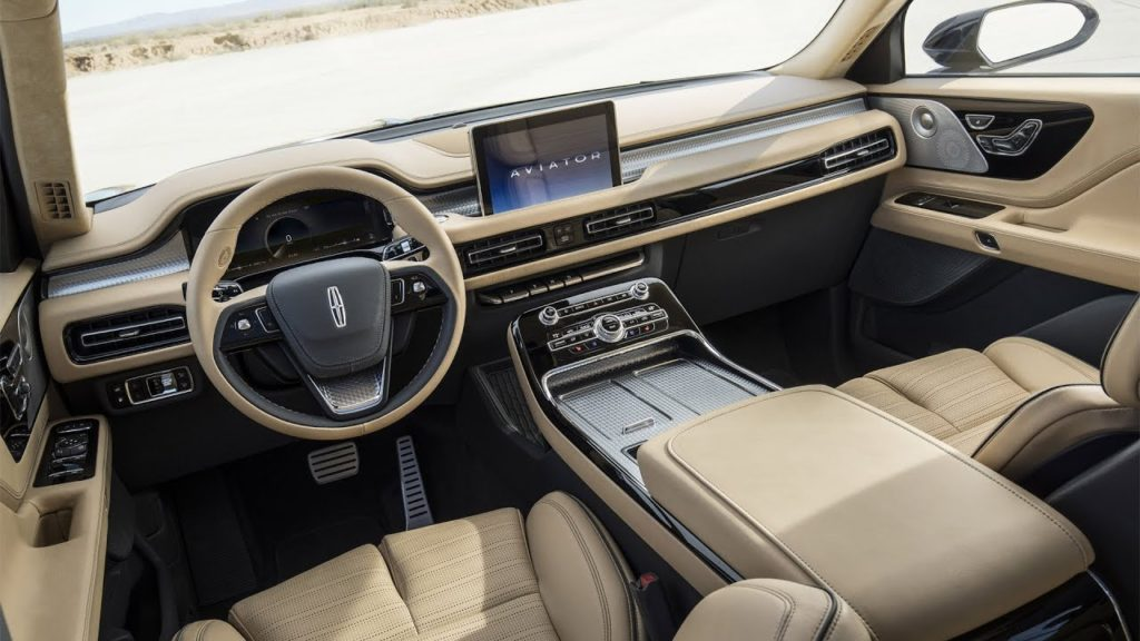 Lincoln Aviator Interior