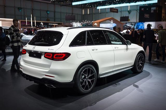 Mercedes-Benz GLC Facelift Geneva Motor Show