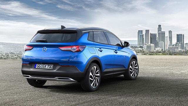 Opel GrandLand X rear