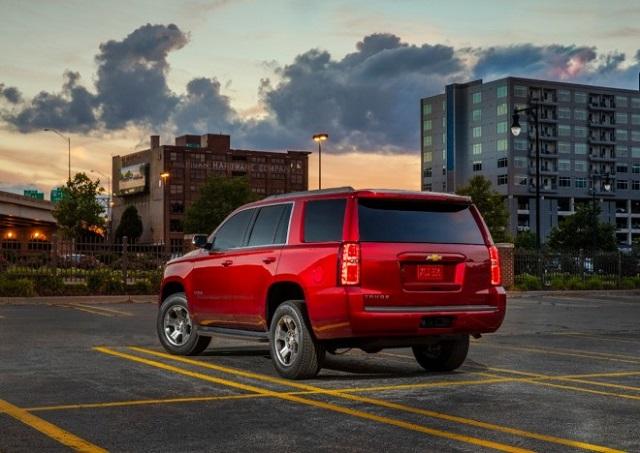 Chevrolet Tahoe Rear View