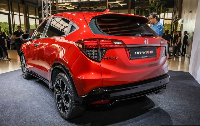 2020 Honda HR-V rear