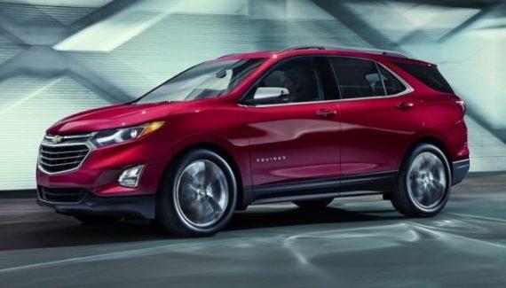 2020 Chevrolet Equinox front
