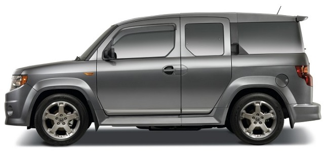 2020 Honda Element towing capacity