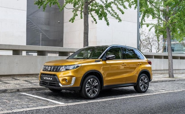 2020 Suzuki Grand Vitara front view
