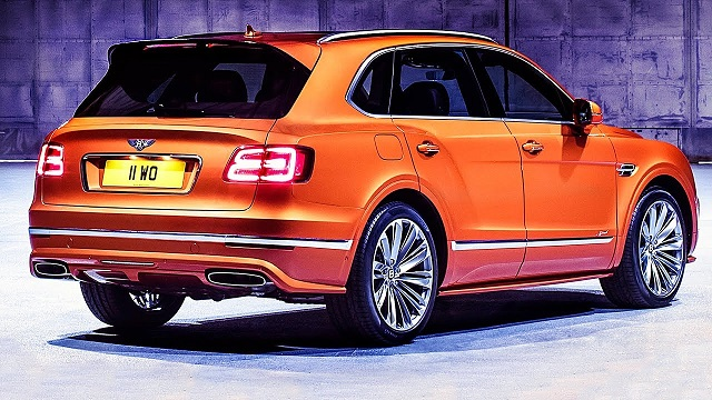 2020 Bentley Bentayga rear