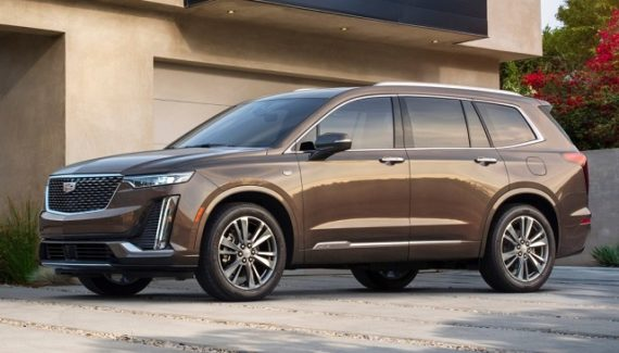 2020 Cadillac XT7 front