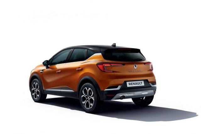 2020 Renault Captur rear