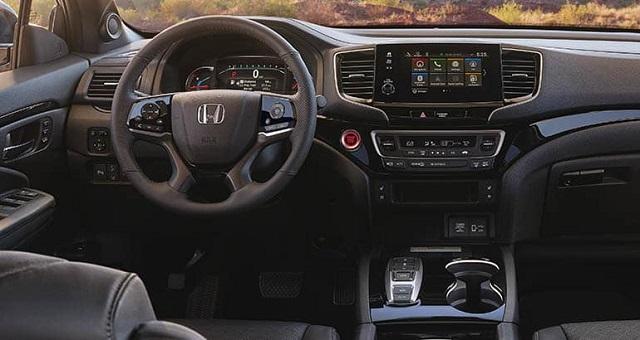 Honda Passport Interior