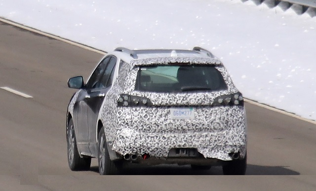 2021 Chevy Equinox Spy shot rear