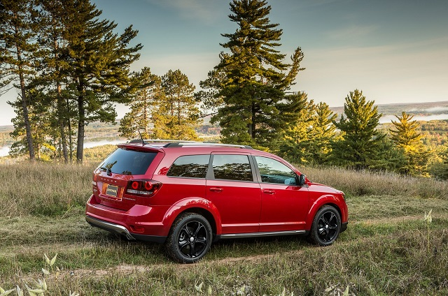 Dodge Journey rear