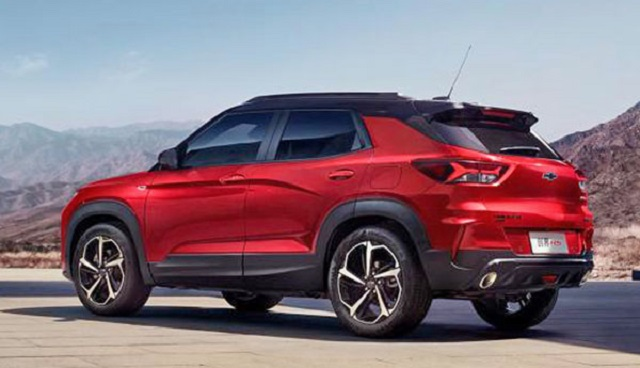 2021 Chevy Trailblazer rear