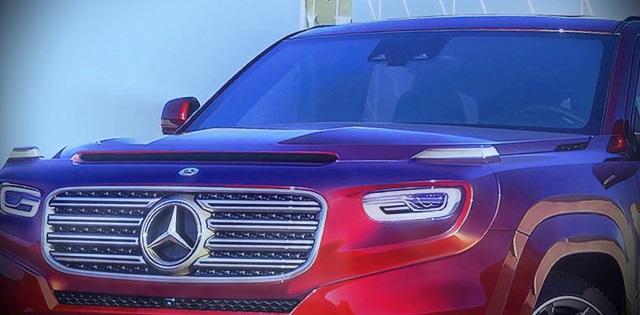 Mercedes Benz GLG Grille