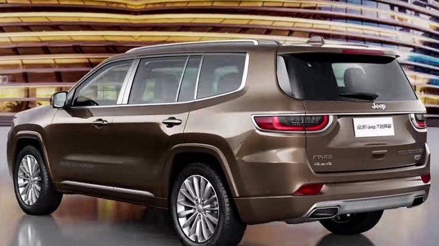 2021 Jeep Grand Wagoneer rear