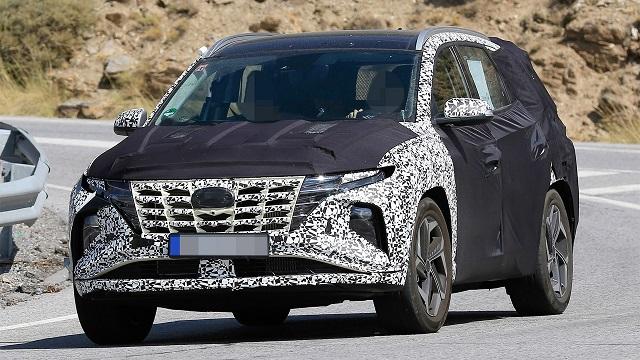 2021 Hyundai Tucson Spy Shot