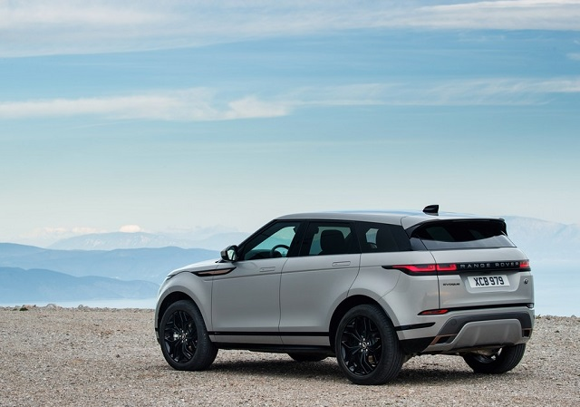 2021 Range Rover Evoque rear