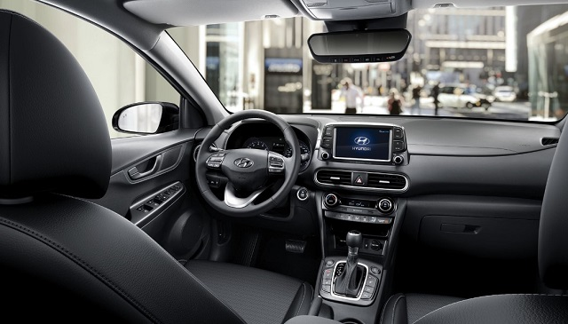 2021 Hyundai Kona Interior