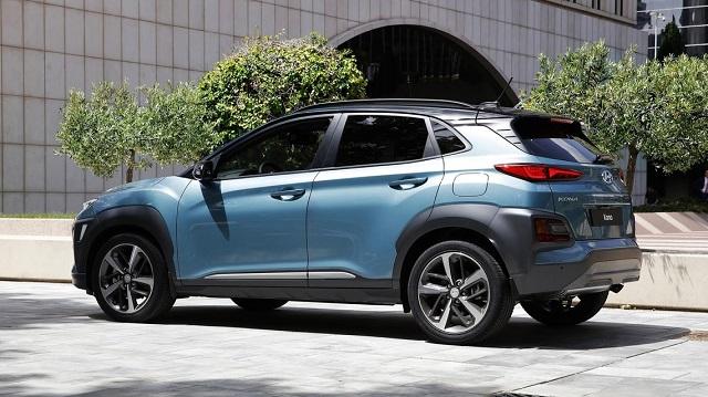 2021 Hyundai Kona rear