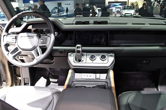 2021 Land Rover Defender interior